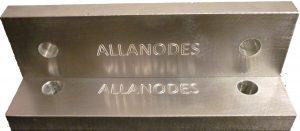 sacrificial anodes type Water Intake Aluminium